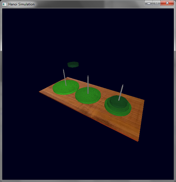 OpenGL Graphics Hanoi 3D Simulation   Ghoscher's Blog