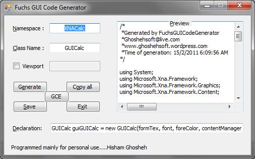FuchsFUIDesigner-Options