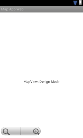 MapView in graphical designer