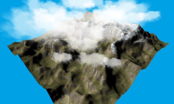 WebGL Clouds